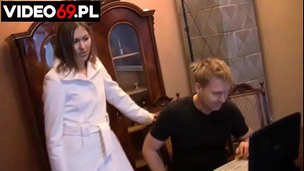 Polskie porno - Pan informatyk i fanka podrywaczy