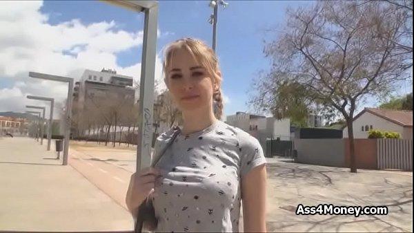 Blonde Teen Outdoor Fuck