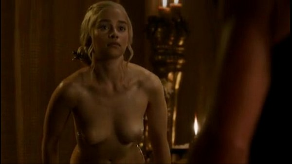 Emilia clarke Game of thrones nude scene season 3 episode 8 Thumb