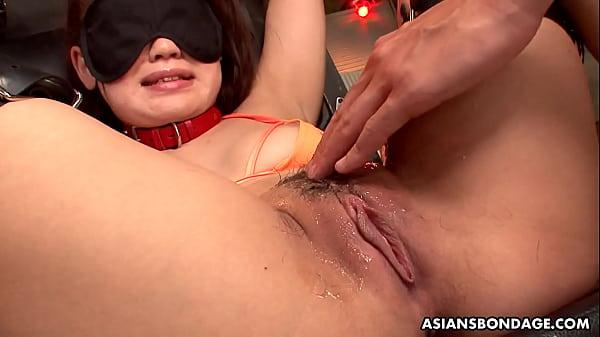 Nene Masaki is having a blast during a bondage ...