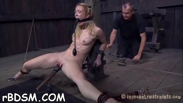 Cutie receives hardcore clamping for her bigges...