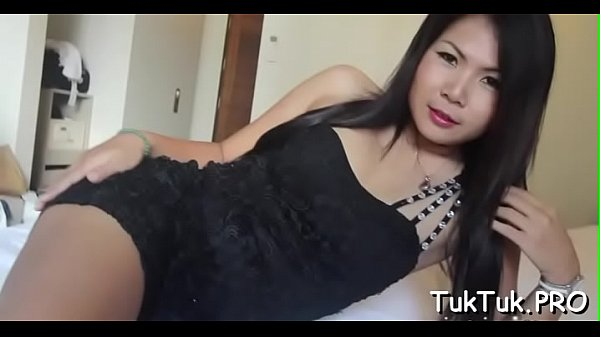 Asian nymph undresses to show her lean body and shaggy cunt Thumb