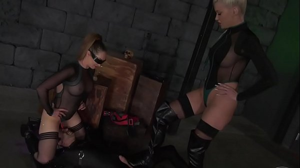 BallbustingHD.com] EXTREMELY SEXY BALLBUSTING by SPACE MISTRESSES! FEMDOM