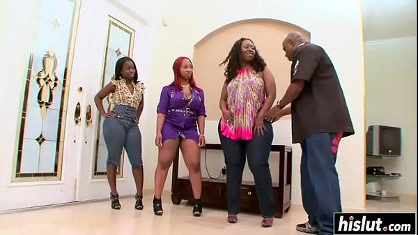 Big Booty Ebony Interracial