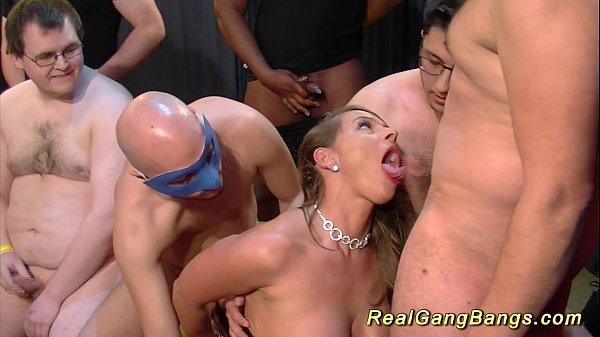 gangbang with big natural breast babe Thumb