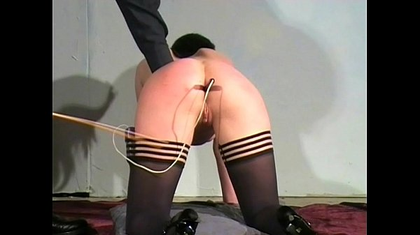 Caned And Humiliated Spanking Slave