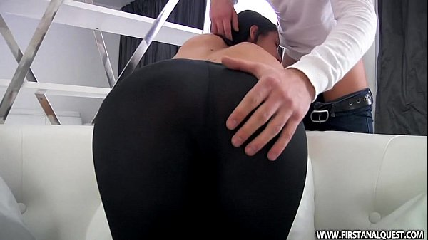 FirstAnalQuest.com - BUTT PORN WITH A SEXY RUSSIAN TEEN IN TIGHT LEGGINGS Thumb