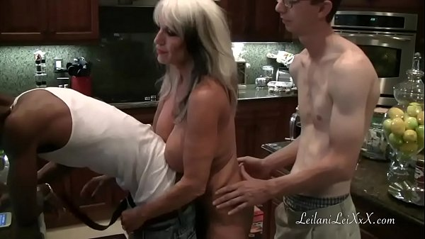 Kitchen Shenanigans with Milfs and BBC