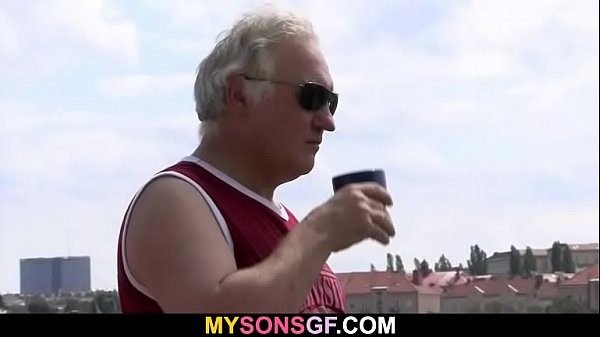 Guy sees his girl cheating with his dad