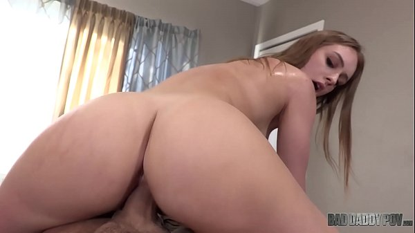 STEP DAUGHTER DAISY WILL DO EVERYTHING TO MAKE HER DAD'S COCK FEEL GOOD