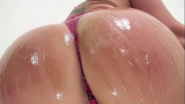 Flower Tucci's Big Oiled Ass Gets Fucked
