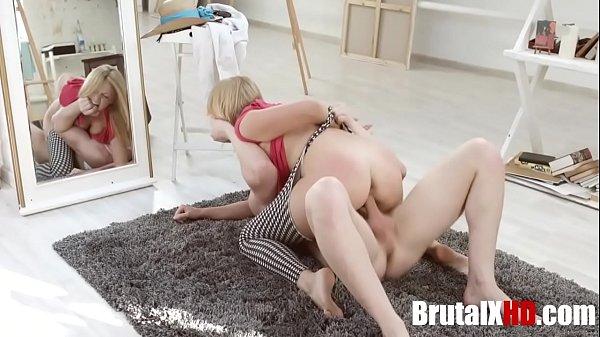Naughty Girlfriend Fucked Brutally- Sharon