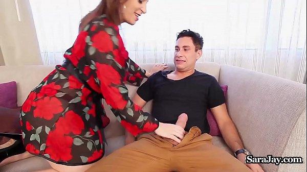 Busty Principal Sara Jay Disciplines Teacher With a Fucking! Thumb