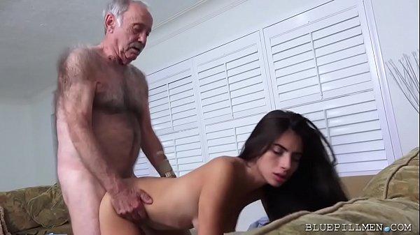 Latina Teen Fucks Old Man Frankie Thumb