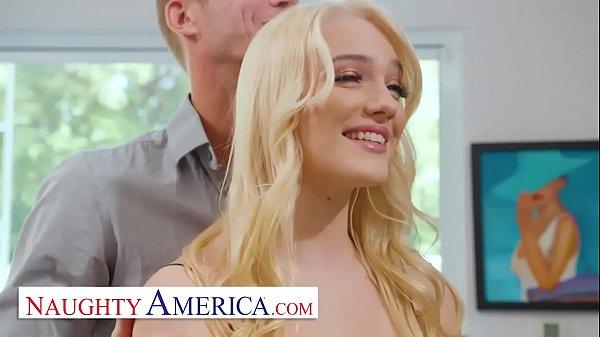 Naughty America Kenna James fucks neighbor for extra cash