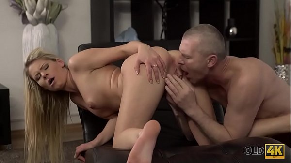 OLD4K. Claudia supposed to clean the house but gets old cock