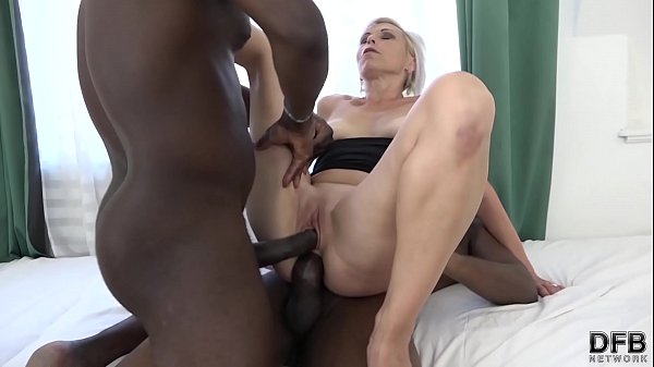 Super hardcore interracial fuck for mature that...