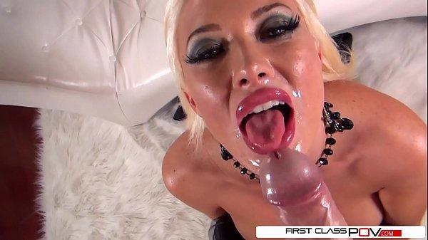 FirstClassPOV - Summer Brielle suck a big dick,...