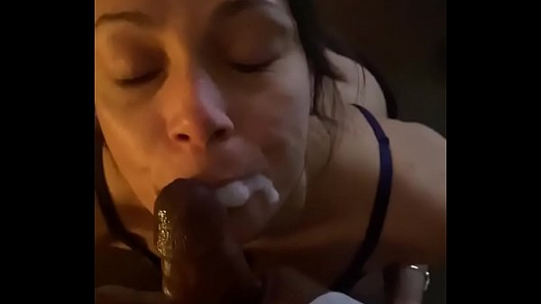 BBC facial with my personal cum dumpster.