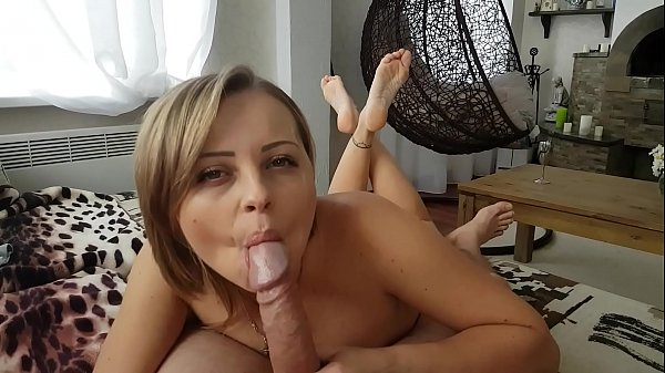 An intense blowjob with cute little soles in the air Thumb