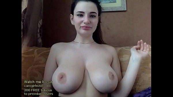 Russian huge boobs babe orgasm Thumb