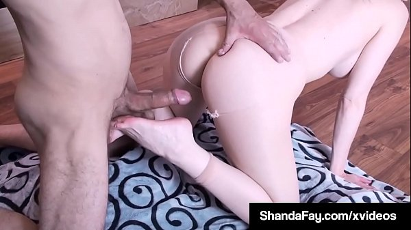 Canadian Cougar Shanda Fay Ass Fucked Showing Feet & Toes!
