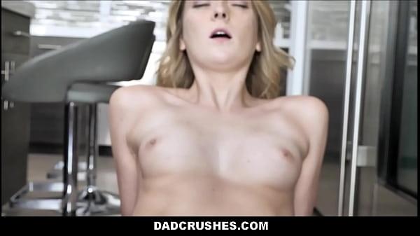 Skinny Blonde Teen Step Daughter Family Sex Wit...
