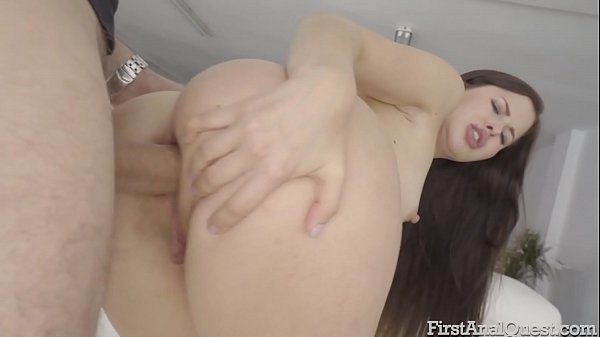 FIRSTANALQUEST.COM - CASSIE FIRE DOES HER FIRST ANAL PORNO MOVIE Thumb