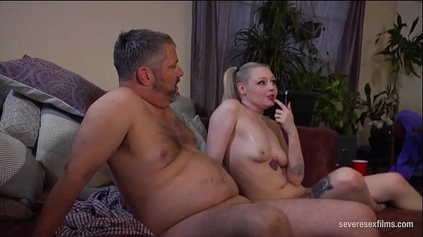 Severe Sex Films: Blonde Cutie Pegs Stepdad