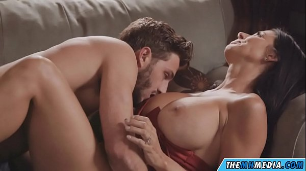 busty mom seduces the young guy