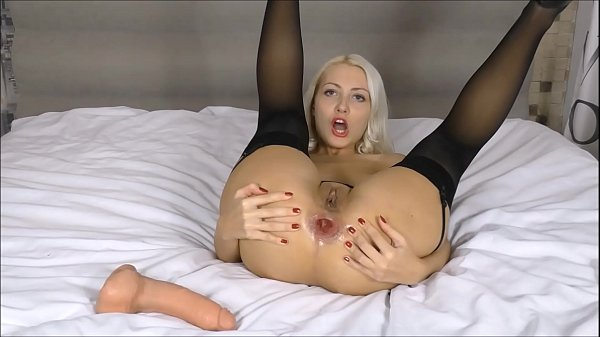 Used a huge dildo for my asshole Webcam russian girl Anal Thumb