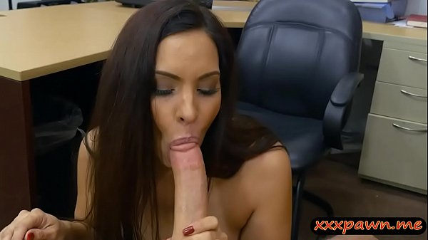 Woman flashes her big tits and screwed
