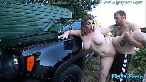 Outdoor Sex With Big Booty Cutie