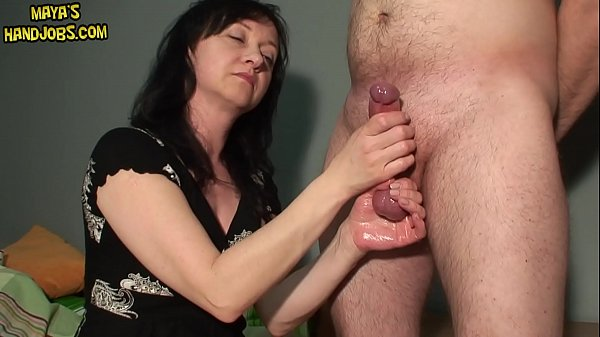 holding him by balls and 2 cumshot