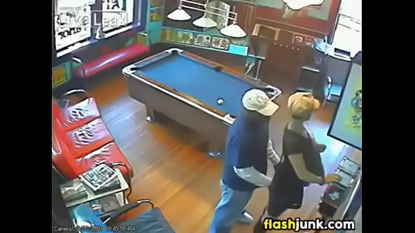 stranger caught having sex on CCTV Thumb