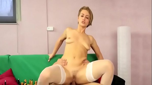 Short hair milf banged