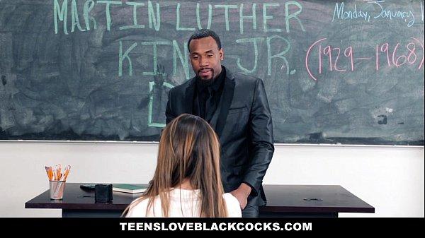 TeensLoveBlackCocks - Big Black Dicking On MLK DAY (Melissa Moore)