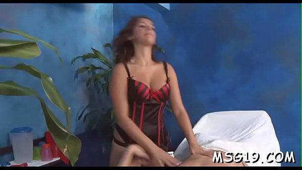 Kinky girl gets vagina massage