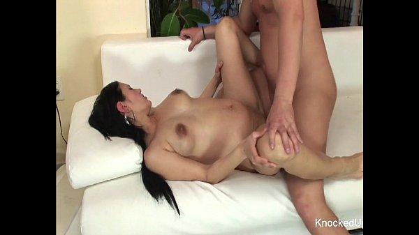 Pregnant Slut jizzed on