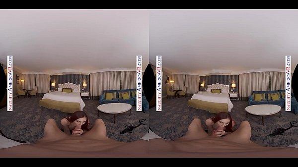 Naughty America - Lilian Stone fucks you in VR Thumb