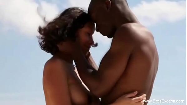 Ebony Couple Outdoor Love Affair