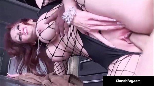 Horny Housewife Shanda Fay Fucks In Her Paint & Body Shop