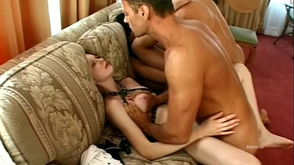 Rocco Siffredi buggers two young eastern girls