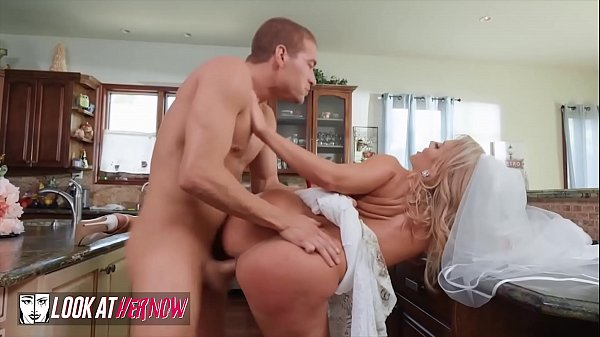 Blonde Bride (Candice Dare) Gets Her Pussy Pounded By (Xanders) Cock – Look Ather Now