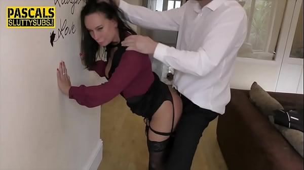Sub milf in stockings fucked hard