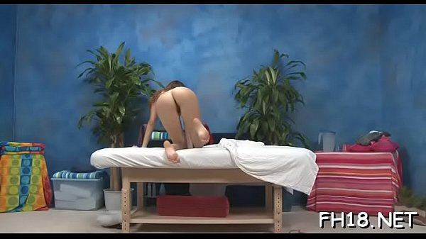 Enchanting babe likes massage Thumb