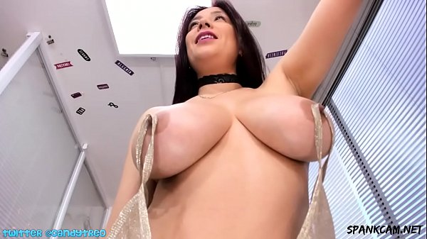 CandyTreo with hard nipples