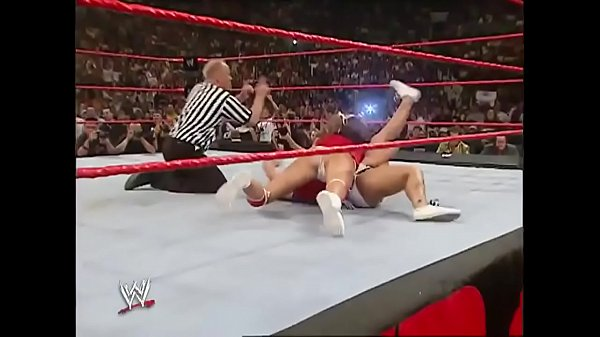 Torrie Wilson and Maria vs Mickie James and Victoria. Raw 2006.