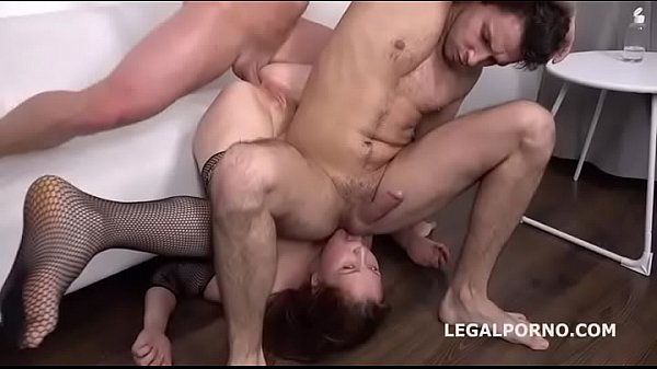 Russian chick roughly drilled in the butt, extreme piledriving