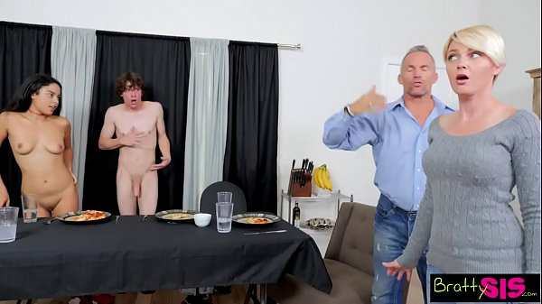 Bratty Sis - Step Brother And Sister Get Caught...